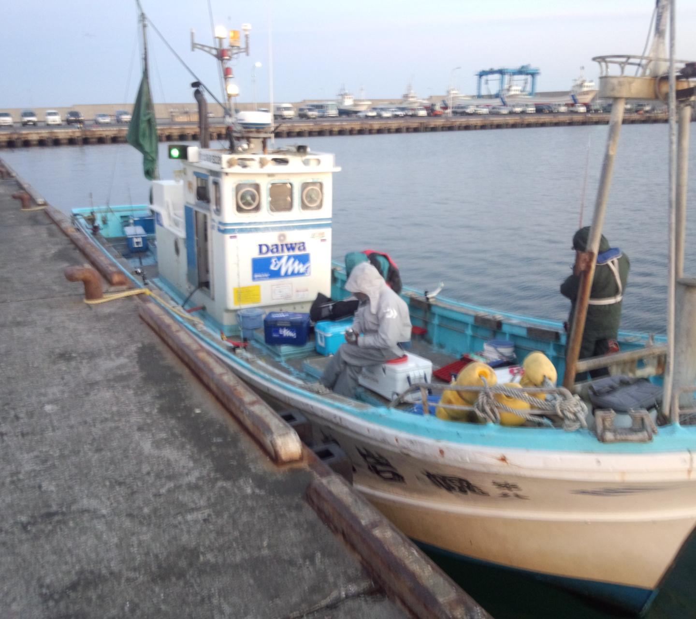 出港: 幌岩丸船長のブログ