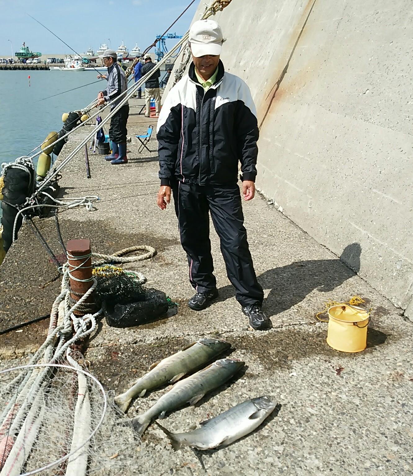 明日の釣り連絡
