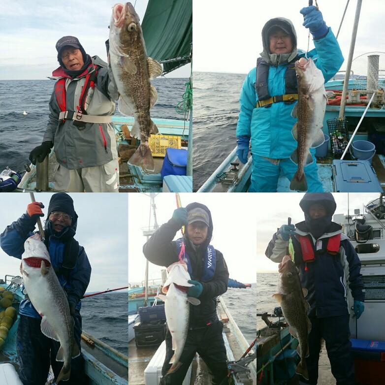 今シーズンの釣船終了